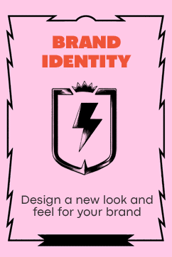 Brand Identity - Design a new look and feel for your brand